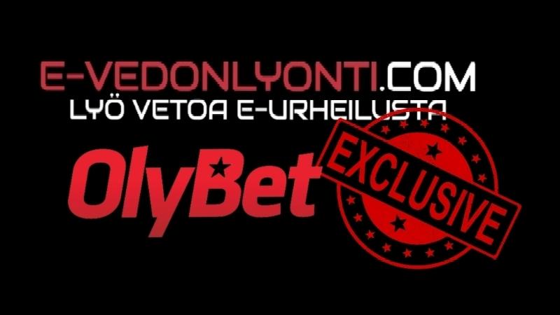 E-vedonlyonti Exclusive: Upea kampanja vedonlyöntiin Olybetilla