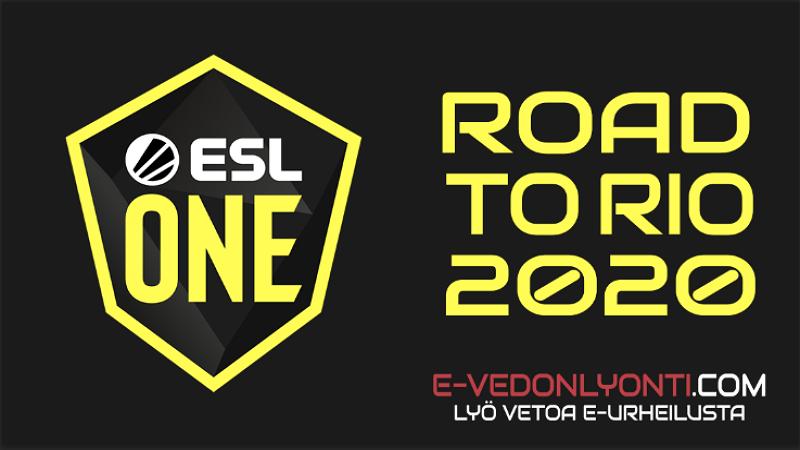 CS:GO - ESL One: Road to Rio: Gen.G - 100Thieves